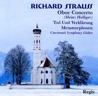 Regis 霍利格(Heinz Holliger)/理查‧史特勞斯:雙簧管協奏曲、死與變容、變形【1CD】