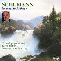 Regis 李希特(Sviatoslav Richter)/舒曼:交響練習曲、雜記簿、幻想小曲【1CD】