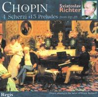 Regis 李希特(Sviatoslav Richter)/蕭邦:四首詼諧曲、前奏曲【1CD】