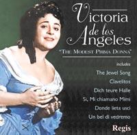 Regis 安赫麗絲(Victoria de los Angeles)/安赫麗絲:詠歎調與歌曲[Victoria de los Angeles : The Modest Prima Donna]【1CD】