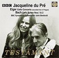 TESTAMENT 杜普蕾(Jacqueline du Pre)/艾爾加:大提琴協奏曲【1CDs】