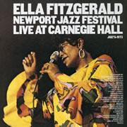 SONY 艾拉.費茲傑羅(Ella Fitzgerald)/新港爵士音樂節現場(Ella Fitzgerald:Newport Jazz Festival, Live At Carnegie Hall)【2 Blu-spec CDs】
