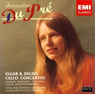 EMI 杜普蕾(Jacqueline du Pré) & 巴畢羅里(John Barbirolli)/艾爾加、戴流士:大提琴協奏曲[Elgar、Delius : Cello Concertos]【1HQCD】