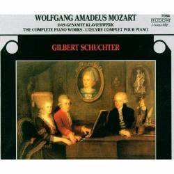 【小閔的古典音樂世界】TUDOR 舒赫特(Gilbert Schuchter)/莫札特:鋼琴獨奏曲全集[Mozart: Complete Piano Works]【10CDs】