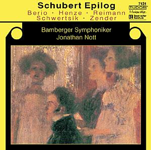 TUDOR 諾特(Jonathan Nott)/舒伯特獨白[Schubert Epilog]【1CD】