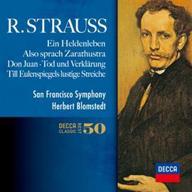 【小閔的古典音樂世界】DECCA 布隆斯泰德(Herbert Blomstedt)/理查.史特勞斯:5大交響詩集(R.Strauss:Ein Heldenleben, Also sprach Zarathustra, Don Juan, Tod und Verklarung, Till Eulenspiegels Iustige Streiche)【2SHM-CD】