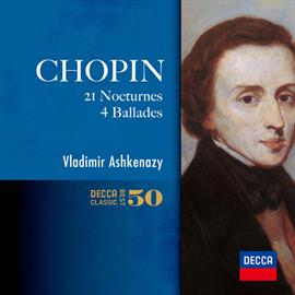 【小閔的古典音樂世界】DECCA 阿胥肯納吉(Vladimir Ashkenazy)/蕭邦:21首夜曲、4首敘事曲(Chopin:21 Nocturnes, 4 Ballades)【2SHM-CD】