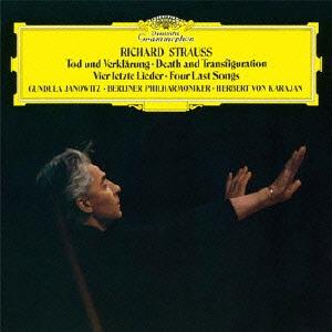 DG 卡拉揚(Herbert von Karajan)、雅諾維茲(Gundula Janowitz)/理查.史特勞斯:交響詩「死與變容」、最後4首歌(Richard Strauss:Death and Transfiguration, Four Last Songs)【SACD+SHM-CD】