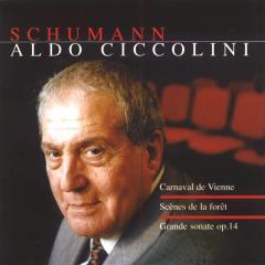 Cascavelle 契可里尼(Aldo Ciccolini)/舒曼:鋼琴作品集【1CD】