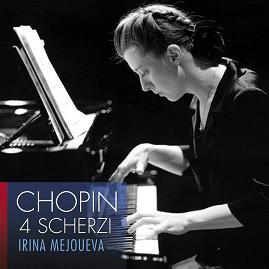 若林工房 梅優葉娃(Irina Mejoueva)/蕭邦:詼諧曲第1-4號[Chopin: 4 Scherzi]【1CD】