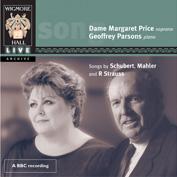 Wigmore Hall Live 瑪格麗特‧普萊斯(Margaret Price) & 帕森斯(Geoffrey Parsons)/威格摩爾廳現場:女高音瑪格麗特‧普萊斯[Wigmore Hall Live: Margaret Price]【1CD】
