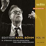 audite 貝姆(Karl Böhm)/理查.史特勞斯:英雄的生涯、死與變容(R.Strauss:Ein Heldenleben & Tod und Verklärung)【1CD】