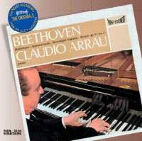"DECCA 阿勞(Claudio Arrau)/貝多芬:鋼琴奏鳴曲「悲愴」、「熱情」、「月光」[Beethoven:Piano Sonata ""Pathétique"", ""Appassionata"", ""Moonlight""]【1CD】"