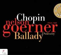 NIFC 戈納(Nelson Goerner)/蕭邦群英錄:戈納 - 敘事曲 / 三首夜曲[Chopin:Ballades, 3 Nocturnes]【1CD】