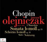 NIFC 歐雷尼札克(Janusz Olejniczak)/蕭邦群英錄:歐雷尼札克 - 葬禮奏鳴曲(op.35) /詼諧曲(op.31)/夜曲/馬祖卡舞曲/圓舞曲[Chopin:Sonata in B flat minor, Scherzo Op. 31, Nocturnes, Mazurkas & Waltzes]【1CD】