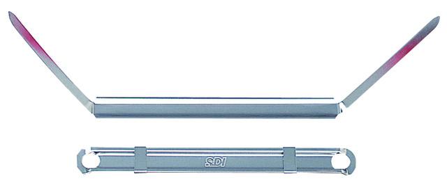【SDI】手牌 # 0946 彎腳型原子夾80mm*56mm(50組裝)