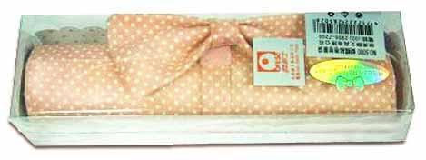 歐菲士 OF-5000 蝴蝶結時尚包-卷卷筆袋(顏色隨機出貨) / 個