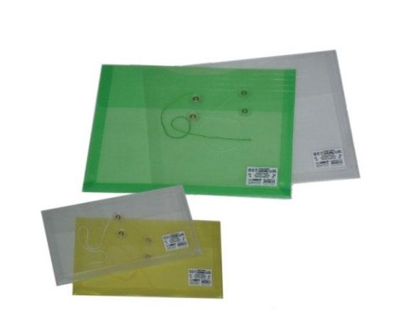 檔案家  OM-FB6HA40  B6橫式繞繩公文袋(顏色隨機出貨) / 個