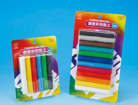 進大 JD-A-57 創意6色彩色油粘土 / 組