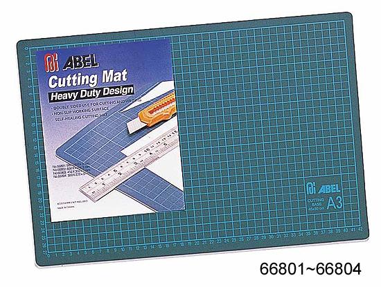 力大牌 ABEL   66802  600X450mm  標準  切割墊  (顏色隨機出貨) / 片