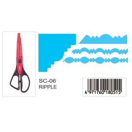 CARL  SC-06  (RIPPLE)  造型剪刀  /  支