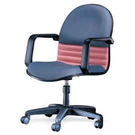 潔保 C-02-1 基本型 高級防火布 透氣皮辦公椅-PP扶手 / 張