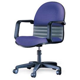 潔保 C-02-2 基本型 高級防火布 透氣皮辦公椅-PP扶手 / 張