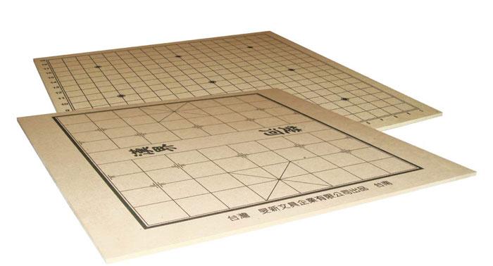 雷鳥   LT-206   棋板 (圍棋&象棋兩用棋盤) / 塊