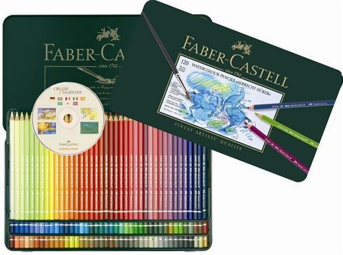 限量供應 【FABER-CASTELL】輝柏  117511  藝術家級水彩色鉛筆 - 120色
