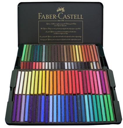 缺貨中 【FABER-CASTELL】 輝柏  128503  藝術家級粉彩條 - 100色