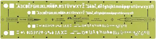 【FABER-CASTELL】輝柏 172357 自動鉛筆用字規