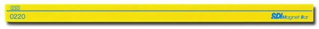 【SDI】手牌 #  3220   彩色磁條(250mm)