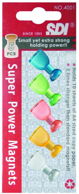 【SDI】手牌 #  3221   超強力酒杯型磁鐵(5個裝)