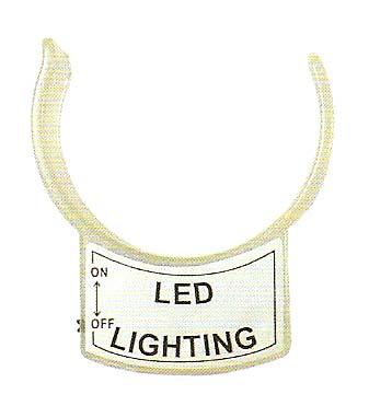 徠福 NO.7369 測量放大鏡附屬LED照明燈配件 /個