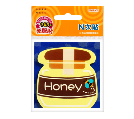 N次貼 61801 環狀膠系列-蜂蜜罐 45張/本