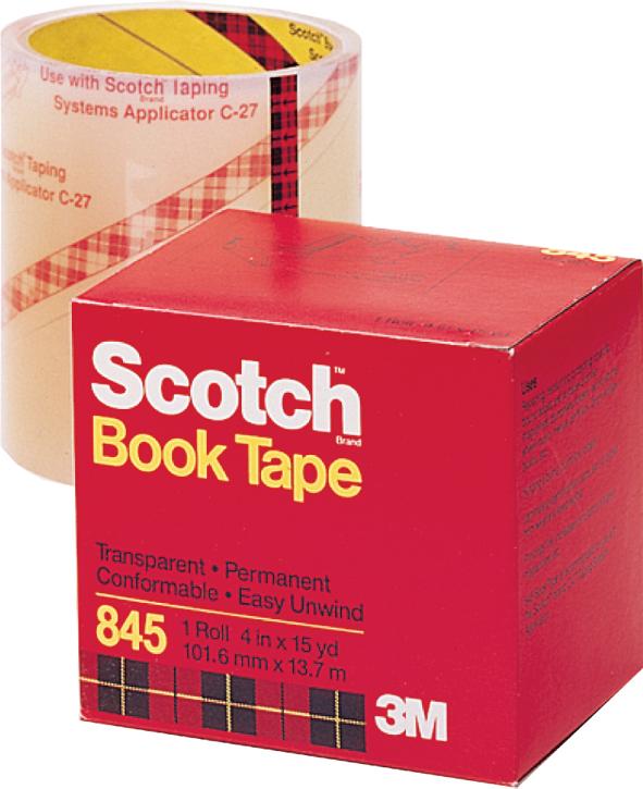 【3M】845-2 Scotch 膠帶黏貼系列 護書膠帶