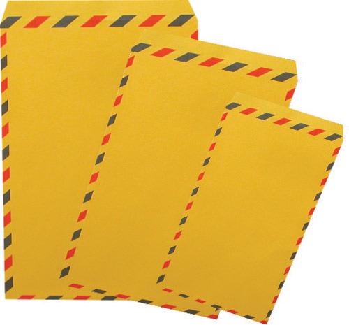 加新 7WHA012 (入袋) 12K黃A航空信封(7個/束)