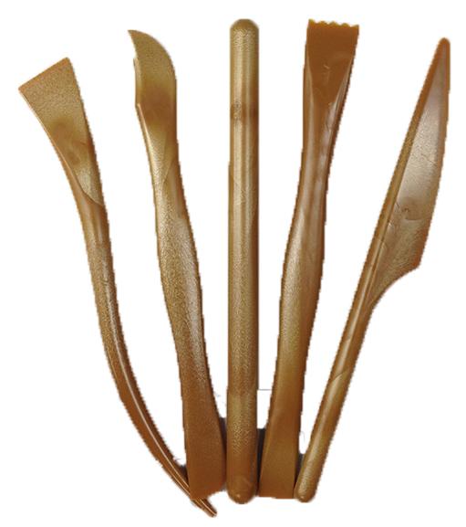 巨倫 A-1315木紋系列5支入工具組 /袋