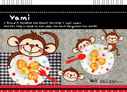 美加美 AF5503 日本札13K素描本-猴子-3本入/ 包