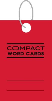美加美 AO3101 COMPACT 單字記憶卡-方紅-4個入/ 包