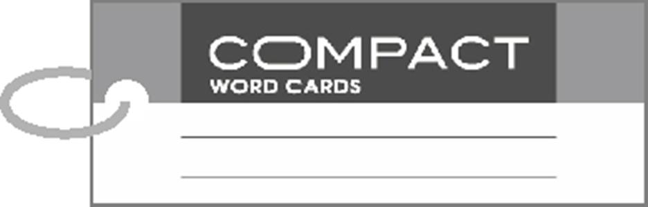 美加美 AO3107 COMPACT 單字記憶卡-長灰-3個入/ 包