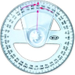 W.I.P  HC360   量角器-360度   / 個