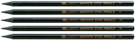 【利百代】石墨棒繪畫鉛筆(5支5種硬度/盒)CB119