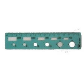 【徠福】 TP-123A 國小數學尺