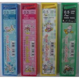 新潮卡通S5280W HB 30支入自動鉛筆芯 / 個 ※不可挑選外殻顏色,採隨機出貨 (促銷)