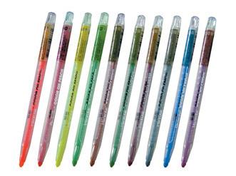 筆樂 Penrote PG4359-1 長桿旋轉蠟筆(特別色)-12支/ 打