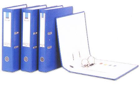 【立強regina】R535 (12入/箱) 2孔拱型夾  - PVC封面- 夾具高度 5cm