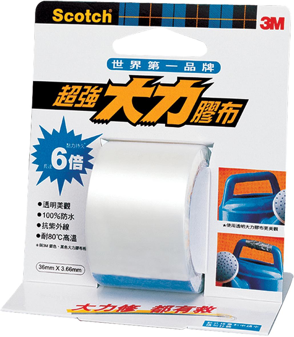 『3M』2104 超強大力膠布膠帶(透明) /個