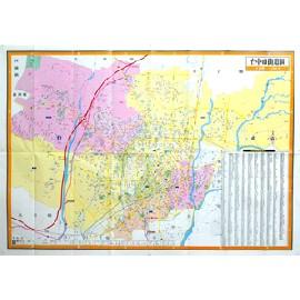 台中豐原市街道圖(金時代)