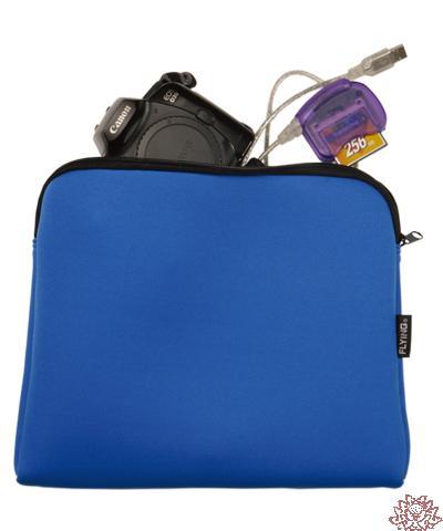 【雙鶖FLYING】E5698 多功能防震保護袋(L)--可放充電器、數位相機